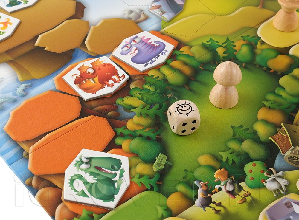Игровой процесс настольной игры Драконий остров