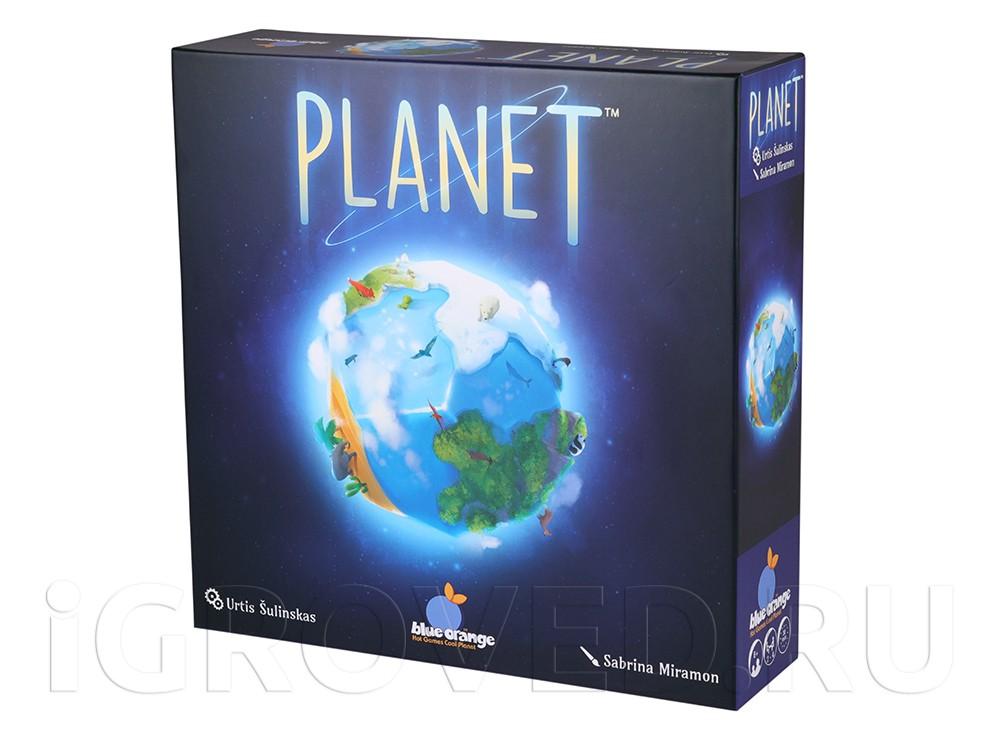 Коробка настольной игры Планета (Planet)