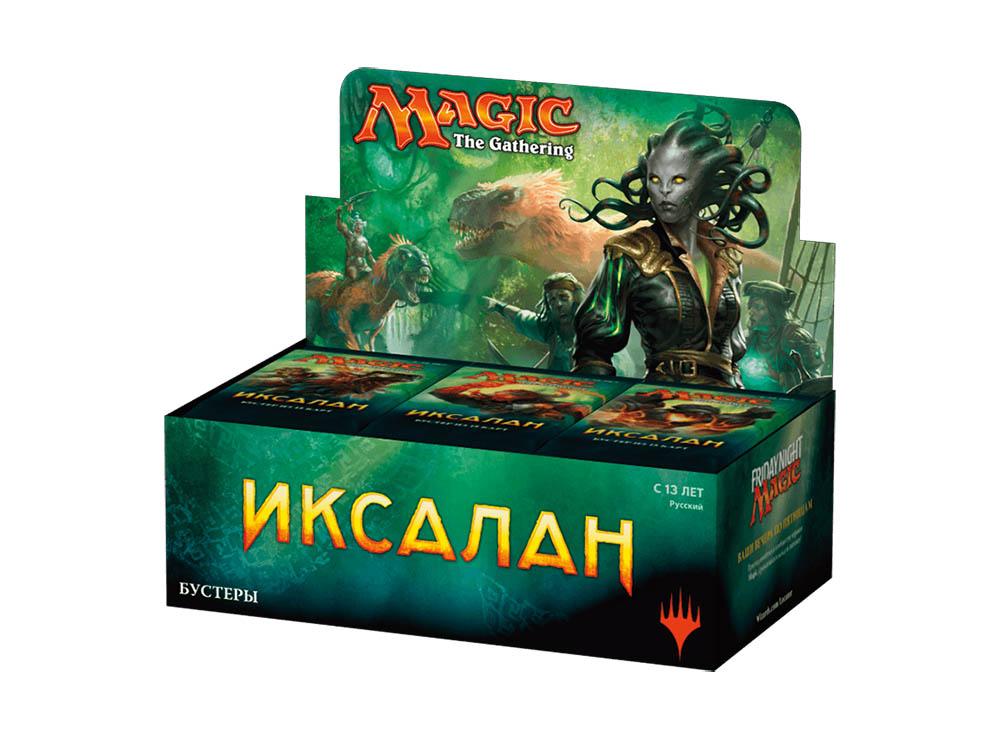 Magic the Gathering: Иксалан Дисплей бустеров RU