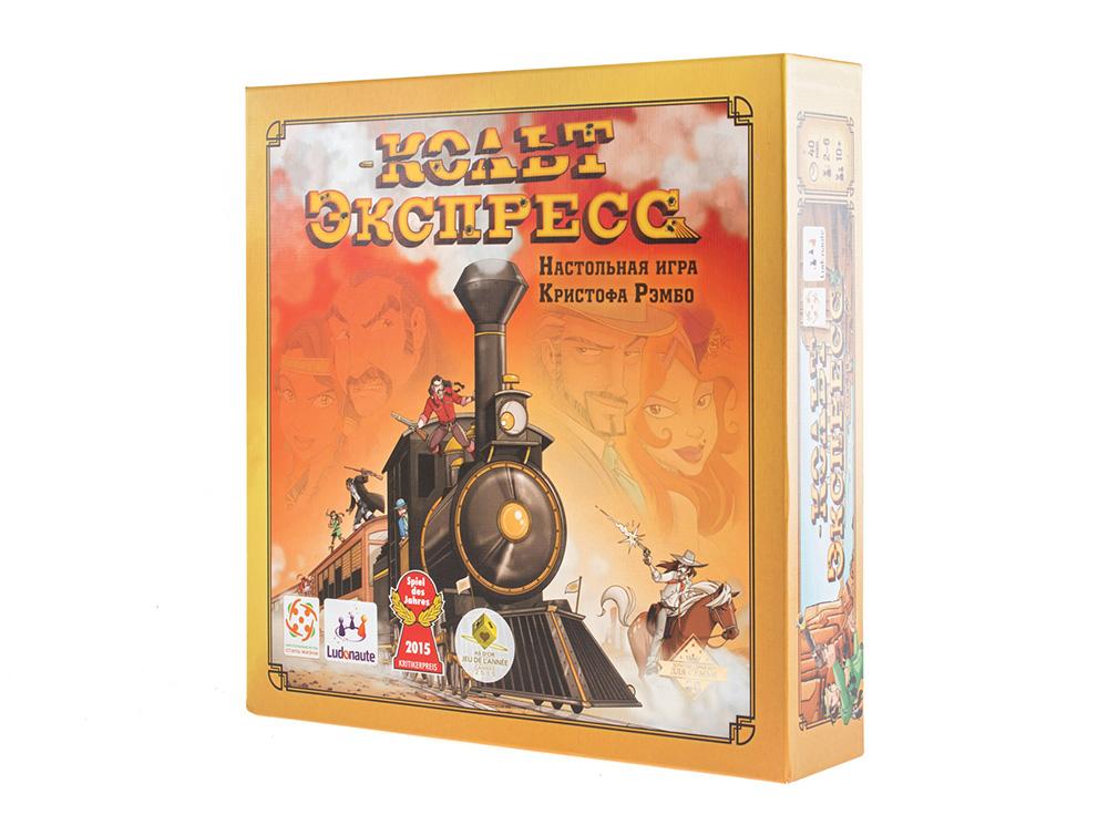 Коробка настольной игры Кольт Экспресс (Colt Express) русское издание