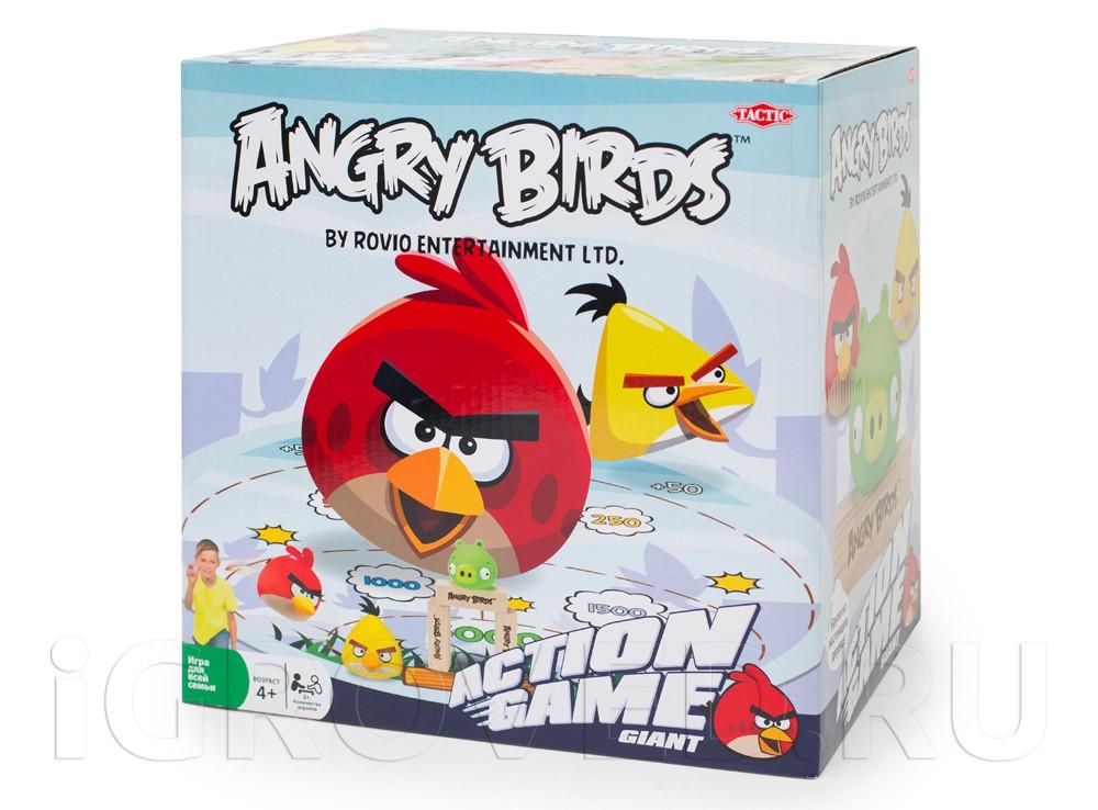 Игра Angry Birds (Tactic)