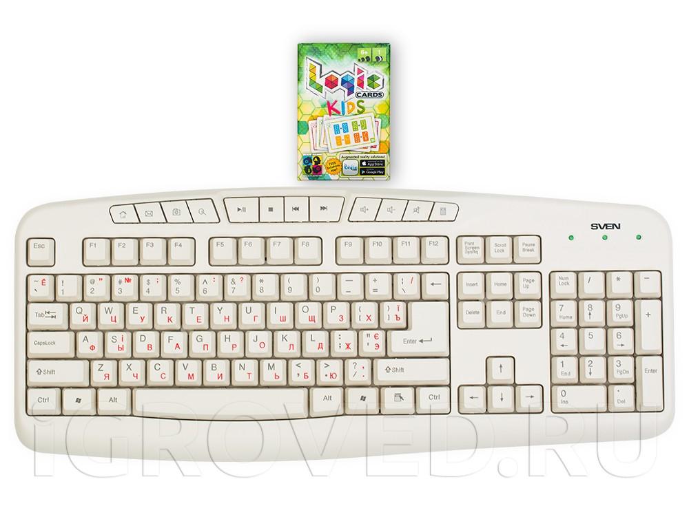 Логические карточки для детей (Logic Cards Kids) в сравнении с клавиатурой