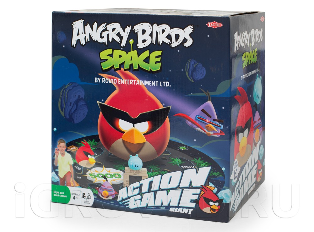 Игра Angry Birds Space (Tactic)