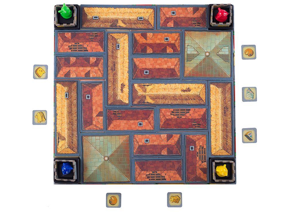 Мышки бродят по замку в поисках кусочка сыра. 4