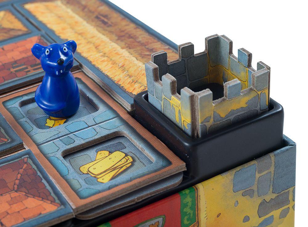 Повезет или не повезет? Сыр или подвал? Настольная игра Сырный Замок
