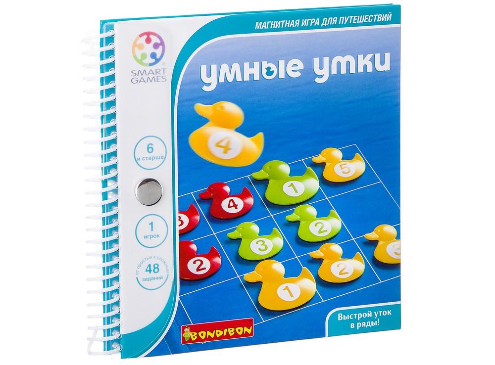 Папка настольной игры-головоломки Умные утки