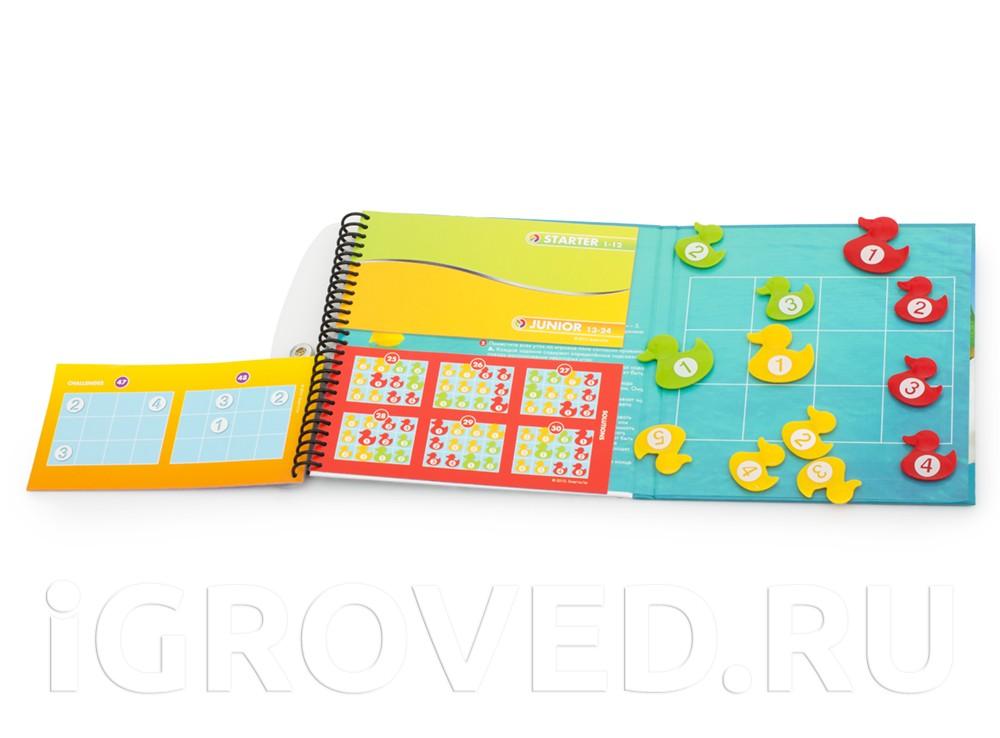 Настольная игра-головоломка Умные утки в открытом виде