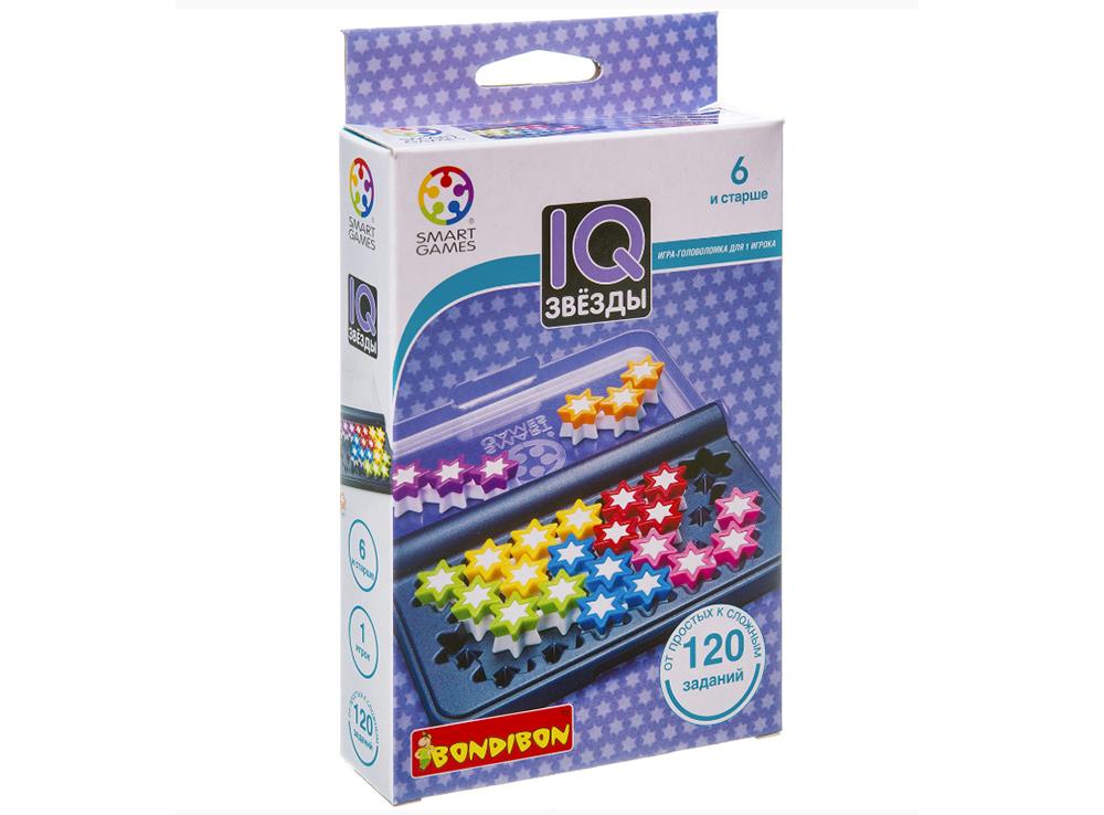 Коробка настольной игры-головоломки IQ-Звёзды