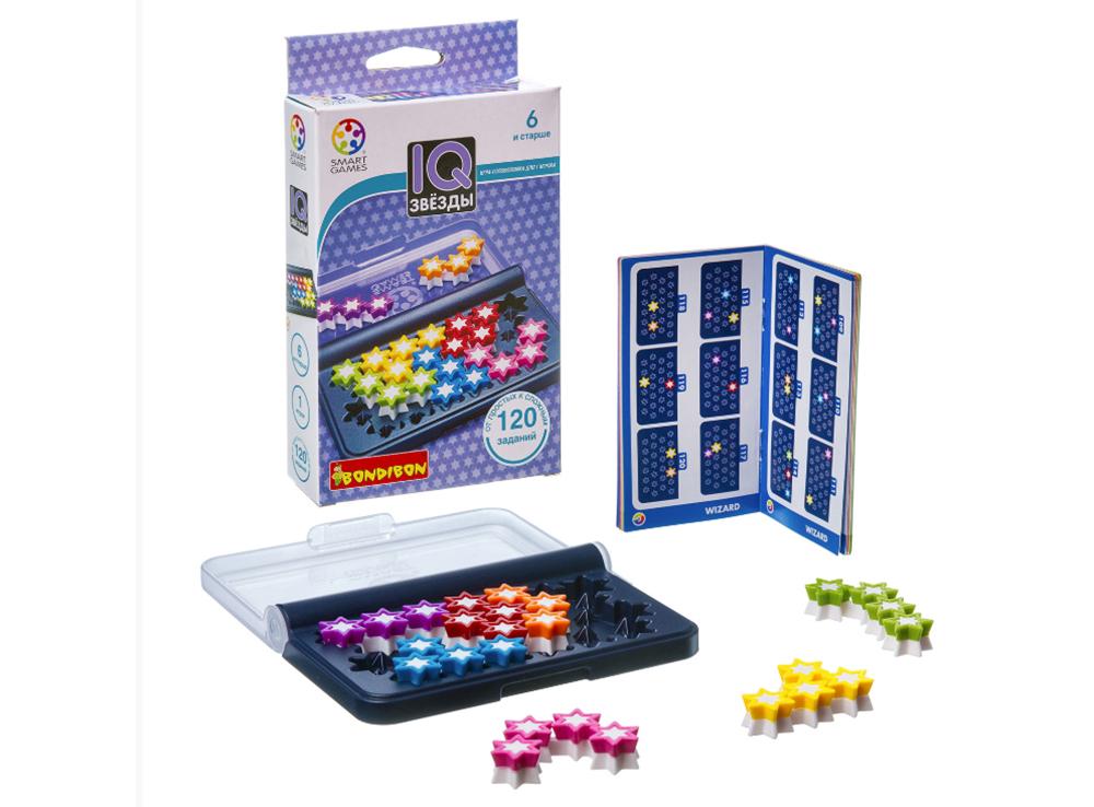 Компоненты  настольной игры-головоломки IQ-Звёзды