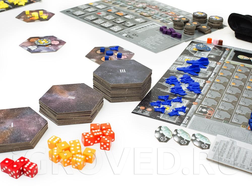 Игровой процесс настольной игры Эклипс - возрождение галактики (Eclipse)