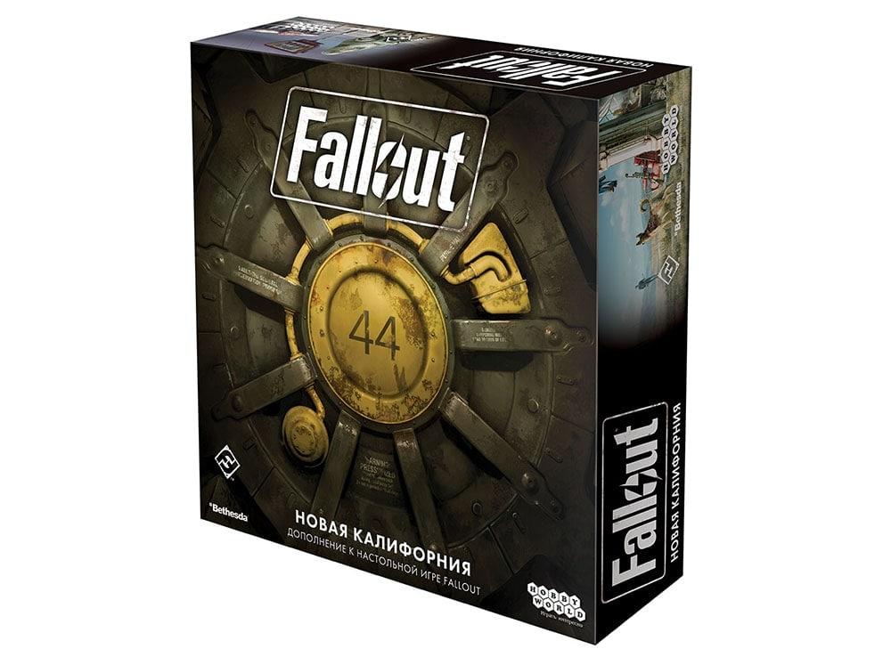 Коробка настольной игры Fallout: Новая Калифорния