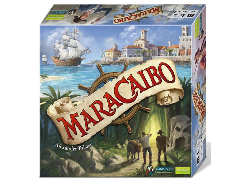 Коробка настольной игры Маракайбо