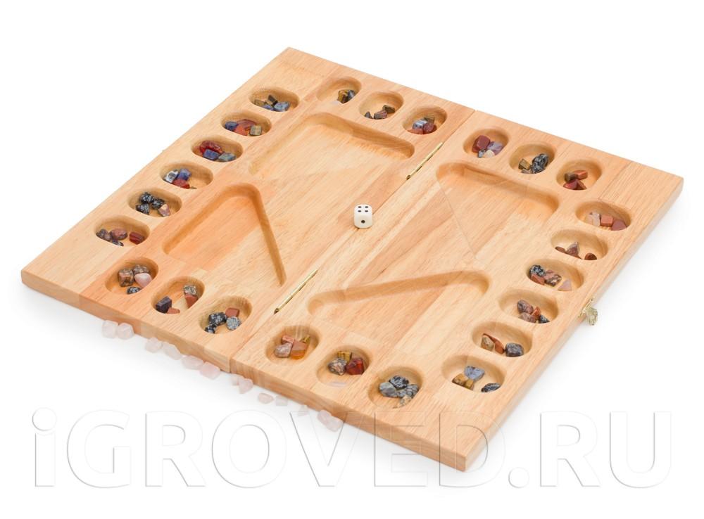 Игровое поле настольной игры Калах / Манкала для 2-4 игроков