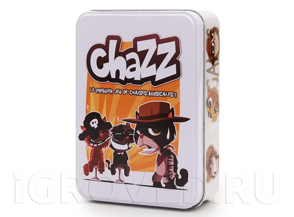 Коробка с настольной игрой Шустрые коты (Chazz)