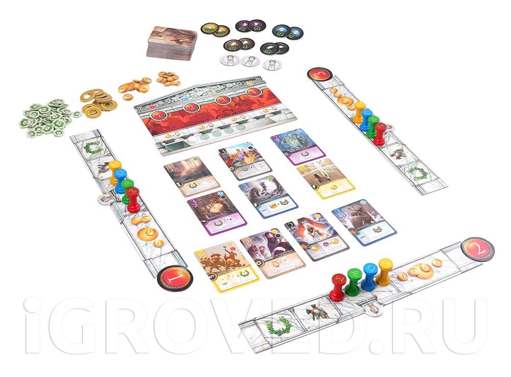 Игровой процесс настольной игры Элизий (Elysium)
