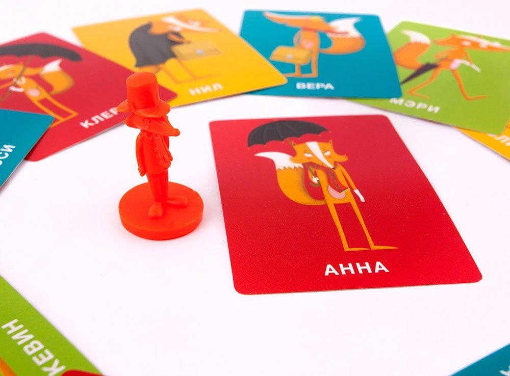 Игровой процесс настольной игры Коварный Лис