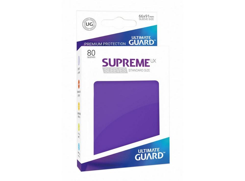 Протекторы Ultimate Guard, фиолетовые (Supreme UX Sleeves Standard Size Purple)