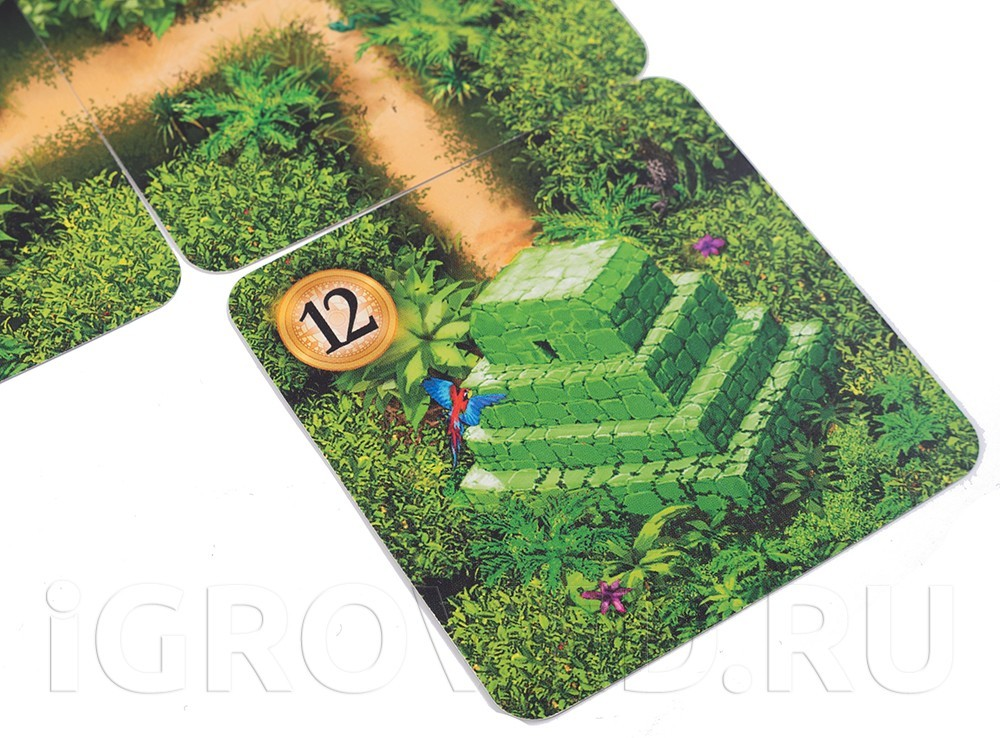 Карта с замком из настольной игры Каруба (карточная версия)