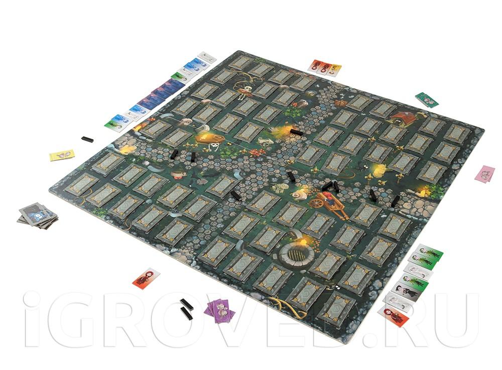 Игровой процесс настольной игры Вампирчики (новый дизайн)