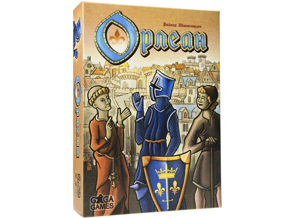 Коробка настольной игры Орлеан