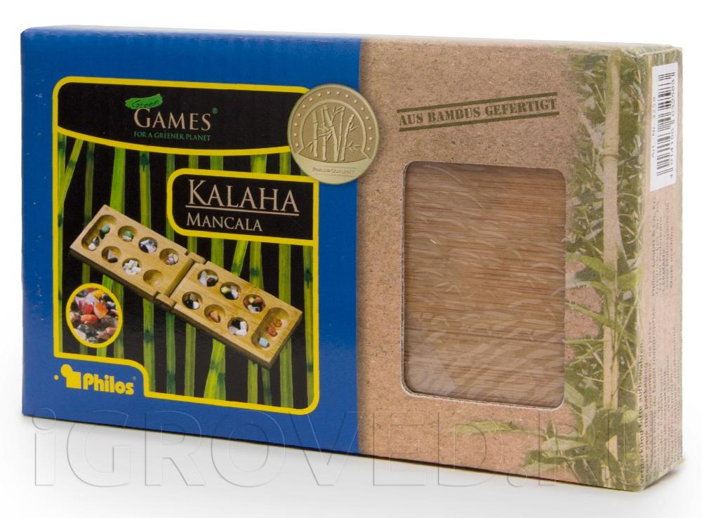 Коробка настольной игры Калах / Манкала дорожная версия