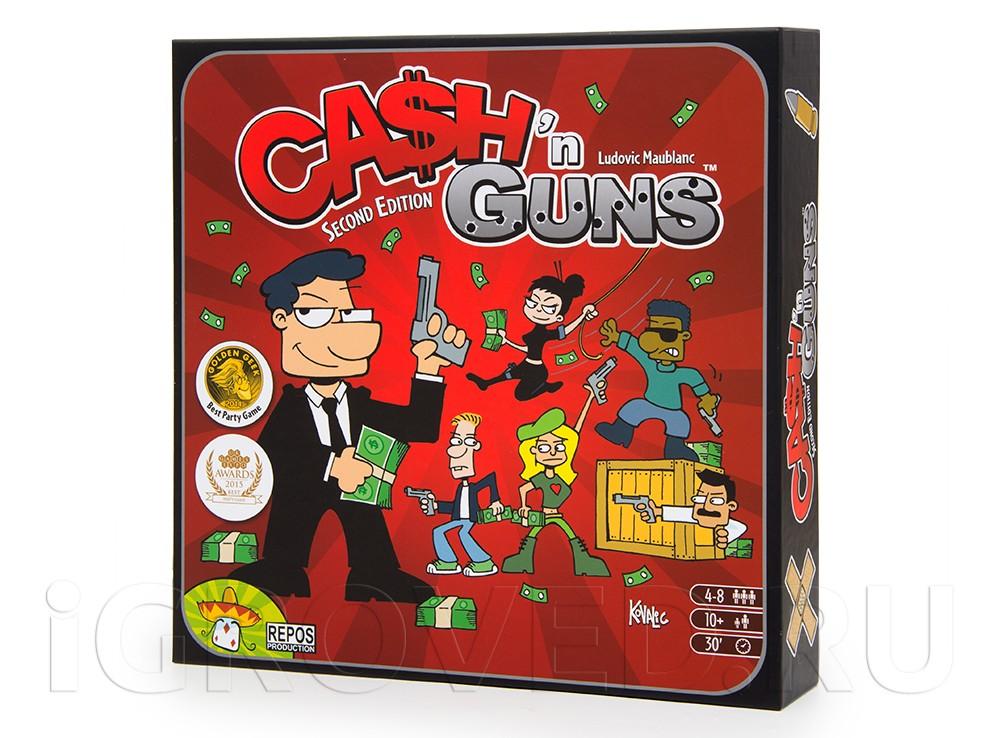 Коробка настольной игры Гангстеры