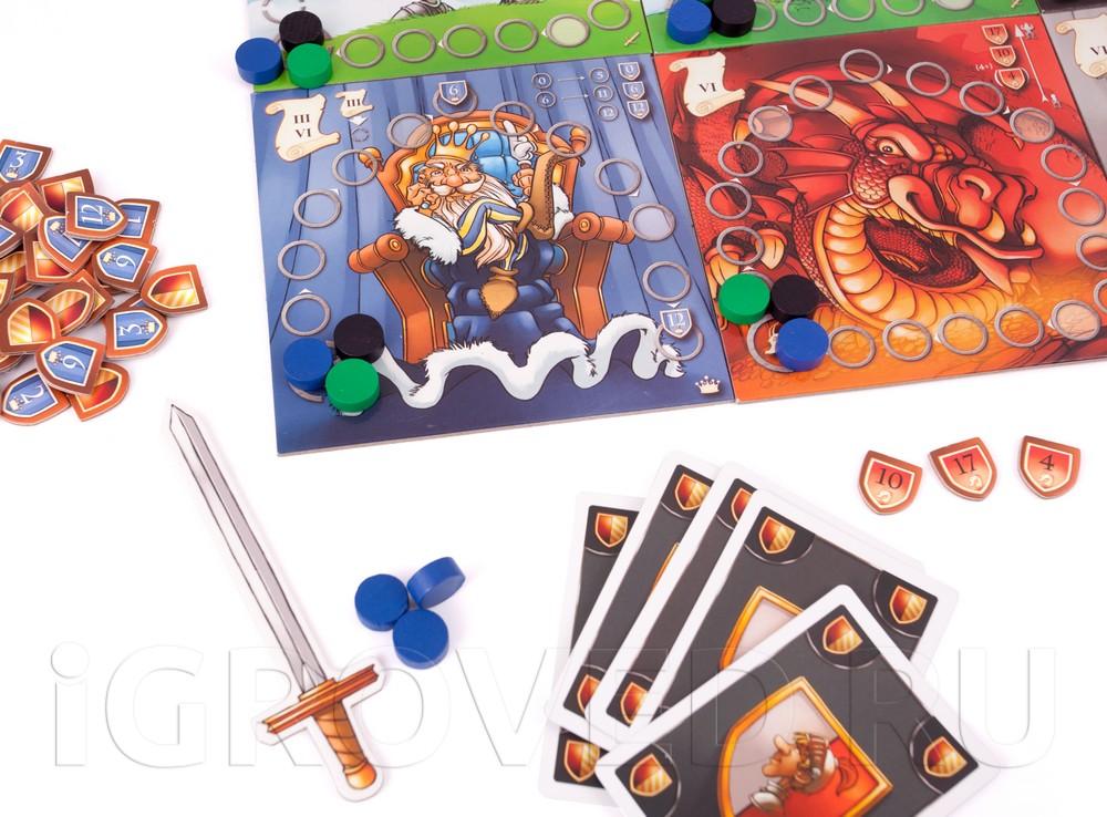 Игровой процесс настольной игры Средневековая академия