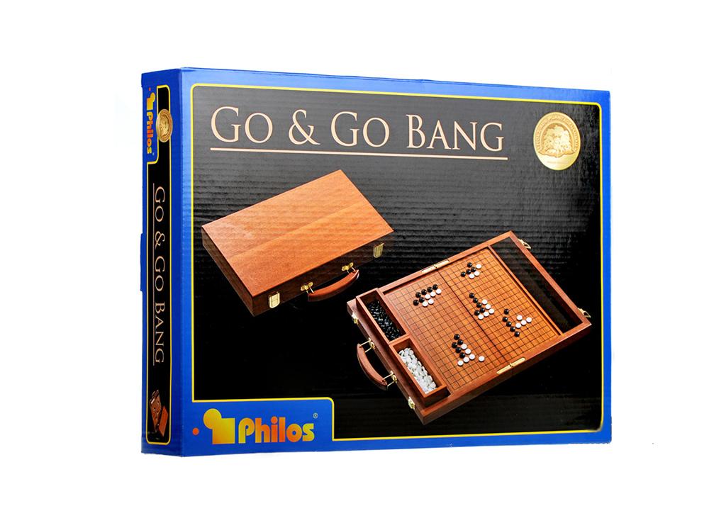Коробка настольной игры Го в чемоданчике