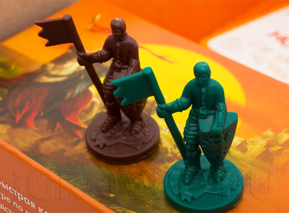 Дополнительные рыцари для пятого и шестого игрока. Настольная игра Колонизаторы: Города и рыцари для 5-6 игроков (дополнение)