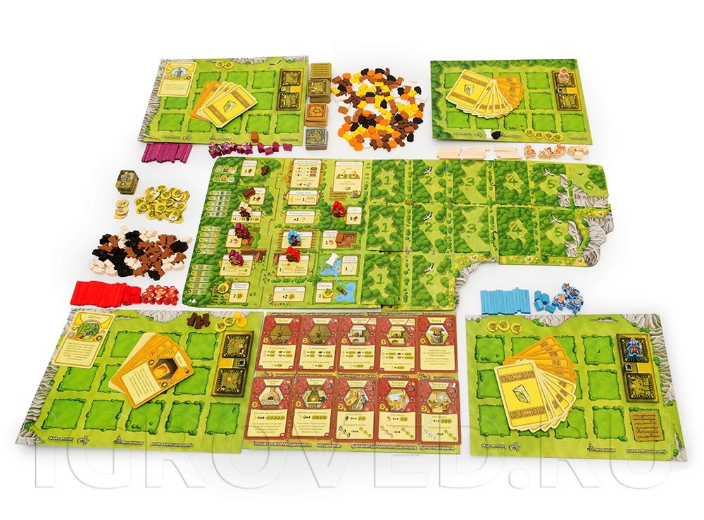 В настольной игре Агрикола вам предстоит стать фермером и добиться того, чтобы изначальный кусок земли превратился в настоящую процветающую ферму.