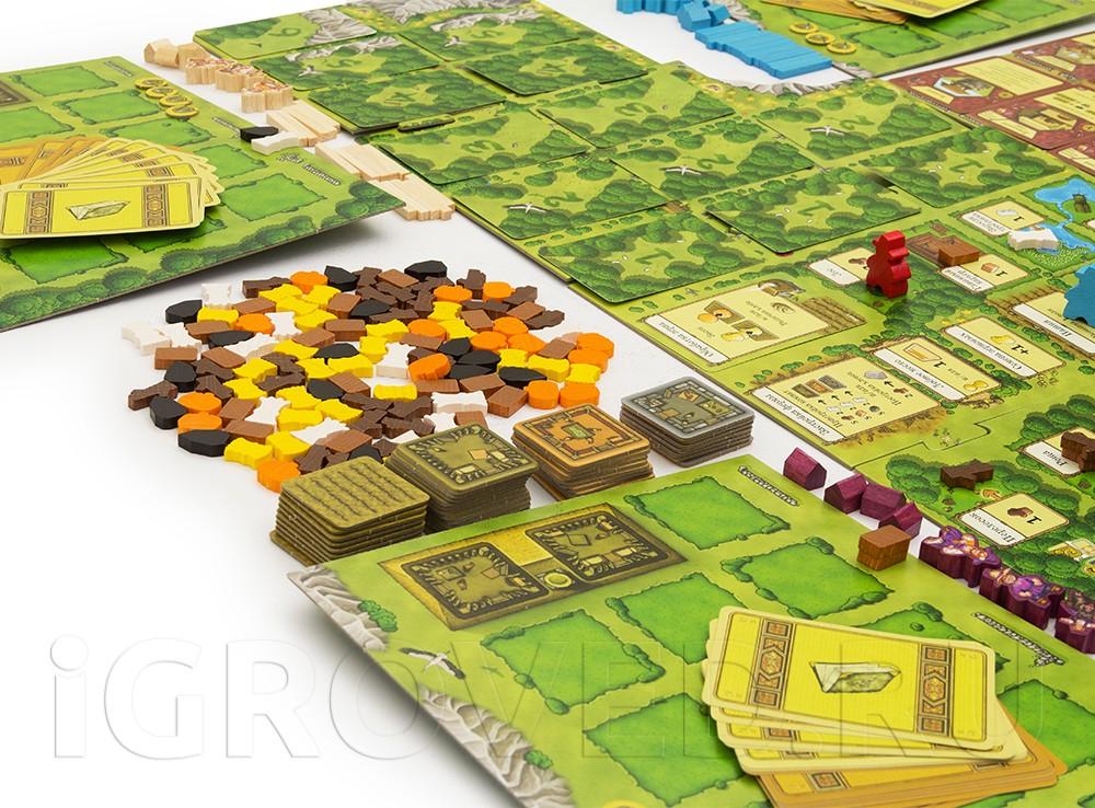 Настольная игра Агрикола - настоящая семейная стратегия, в которую можно сыграть даже в одиночку.