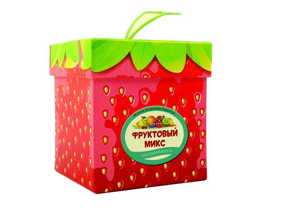 Коробка настольной игры Фруктовый Микс Клубничный