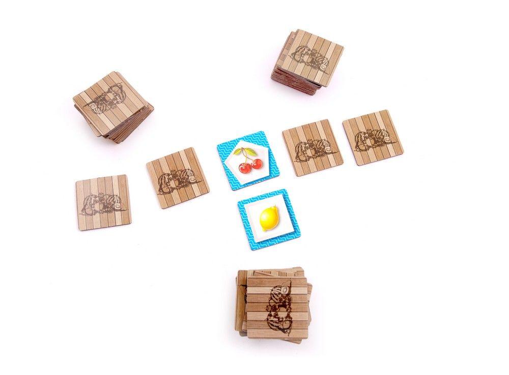 Карточки настольной игры Фруктовый Микс Клубничный