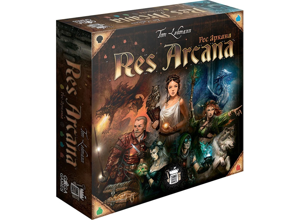 Коробка настольной игры Рес Аркана