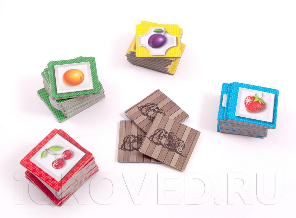 Карточки настольной игры Фруктовый Микс Арбузный