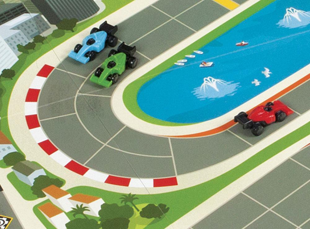 Компоненты настольной игры Формула скорости