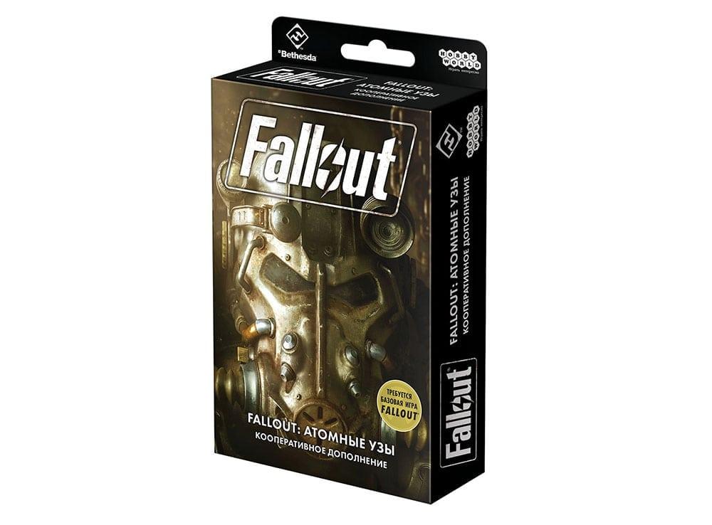 Коробка настольной игры Fallout: Атомные узы