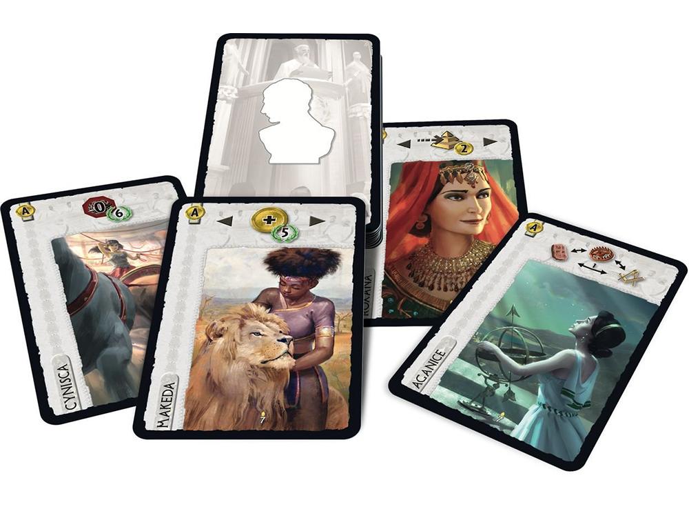 Карта настольной игры 7 Чудес: Лидеры Юбилейное дополнение (7 Wonder: Leaders Anniversary Pack )