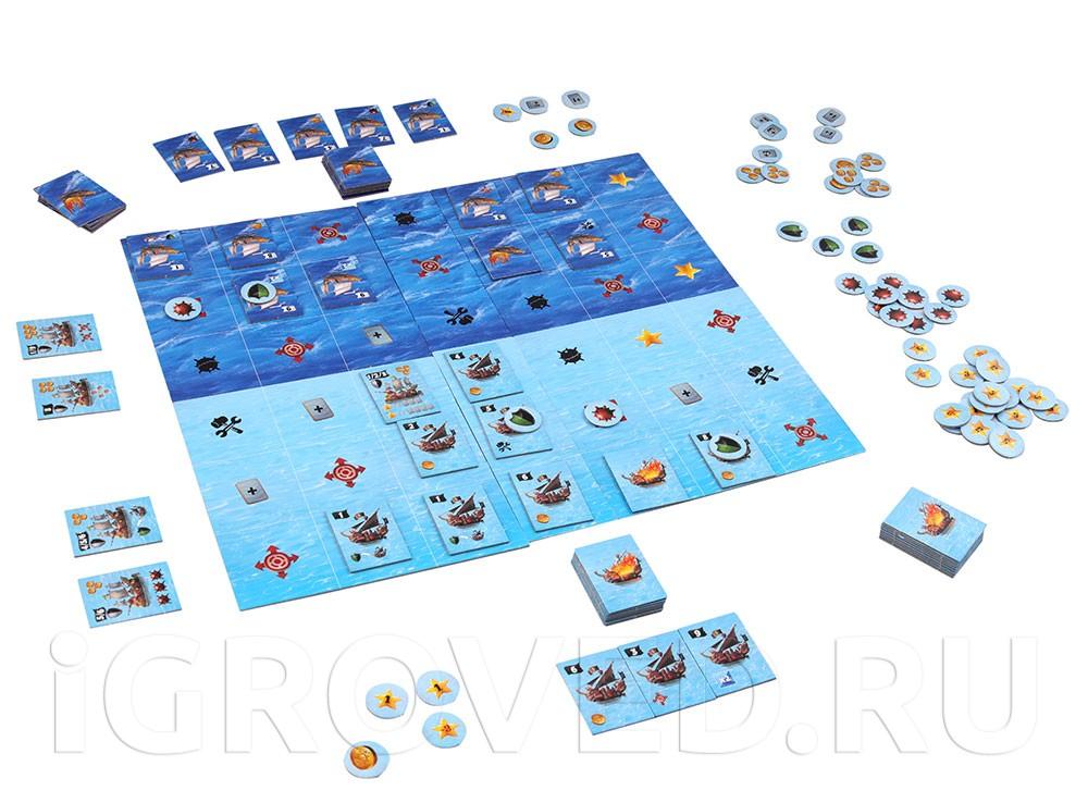 Игровой процесс настольной игры Повелители морей
