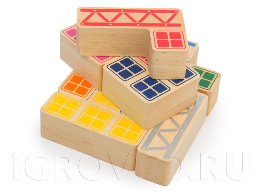 Инструкция для головоломки кубик из тропического дерева