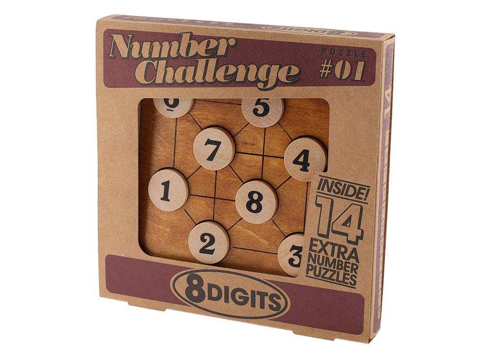 Настольная игра-головоломка 8 цифр