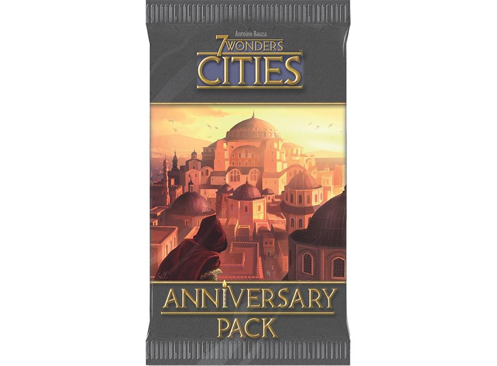 Настольная игра 7 Чудес: Города Юбилейное дополнение (7 Wonder: Cities Anniversary Pack )
