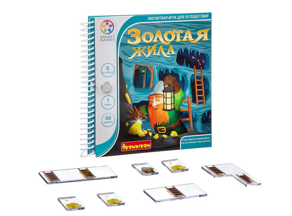 Настольная игра-головоломка Золотая жила