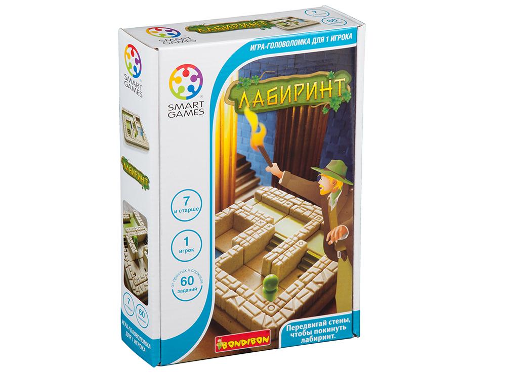 Коробка настольной игры-головоломки Лабиринт для умного авантюриста