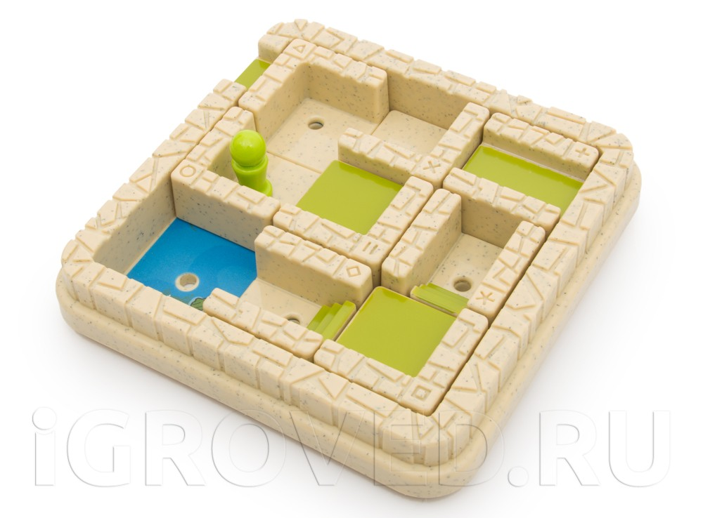 Компоненты настольной игры-головоломки Лабиринт для умного авантюриста