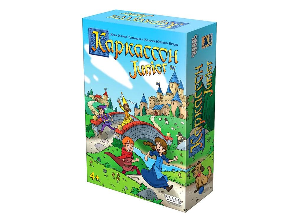 Коробка настольной игры Каркассон Junior