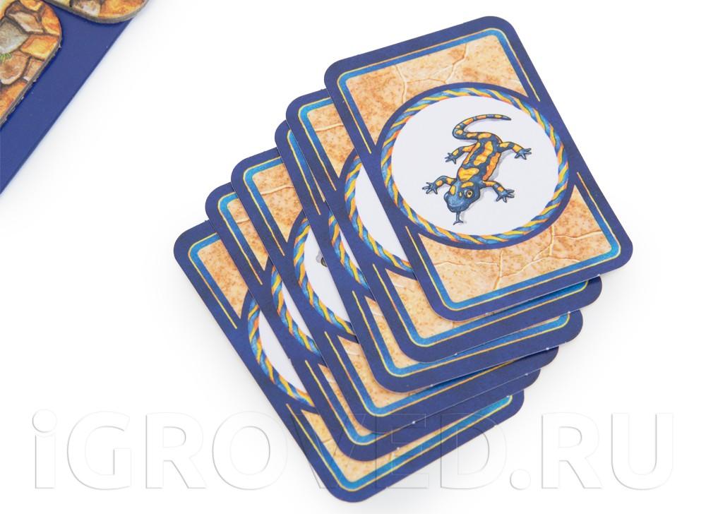 Карточки настольной игры Сумасшедший Лабиринт