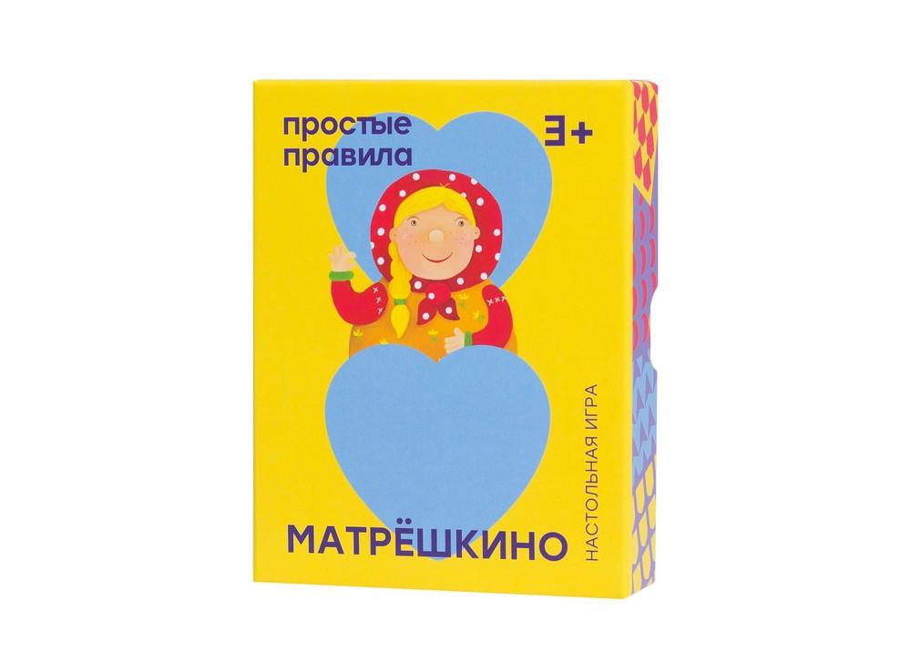 Коробка настольной игры Матрёшкино
