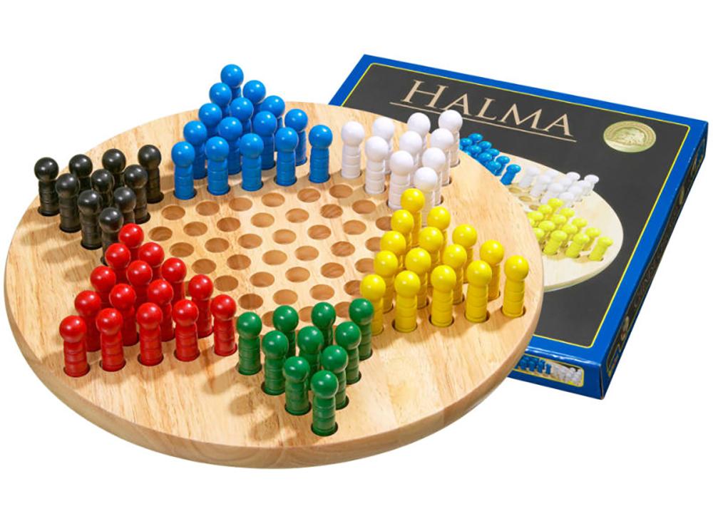 Компоненты настольной игры Китайские шашки (Halma или Chinese Checkers, Philos)