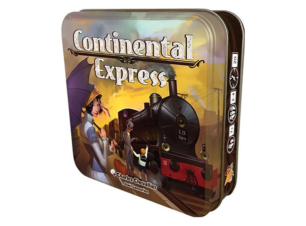 Коробка настольной игры Континентальный экспресс (Continental express)